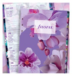 Floral Illustrated Diary Refill Pack A5