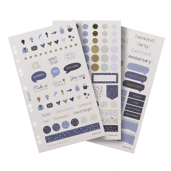 Indigo Stickers