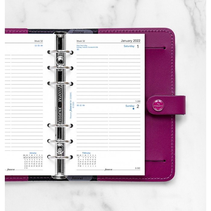 One Day On A Page Diary With Appointments Personal