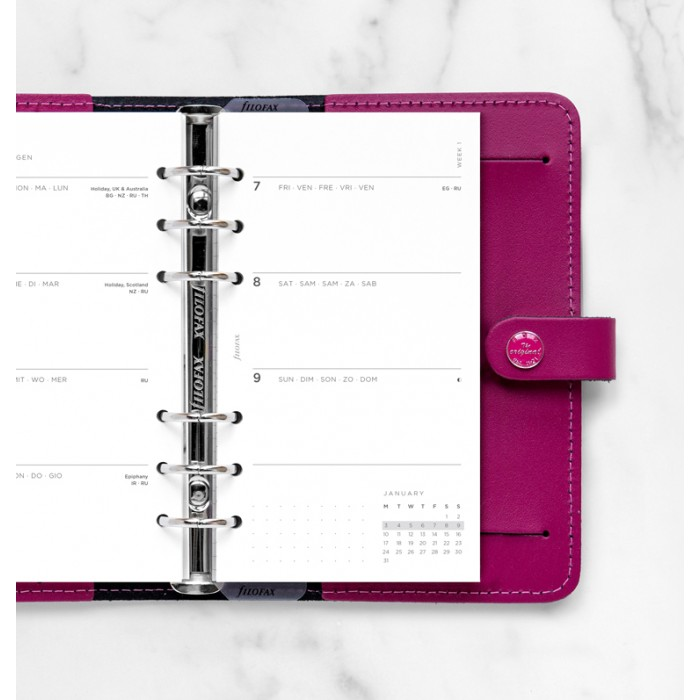 Minimal Week to View Diary - Personal