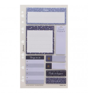 Indigo Sticky Notes