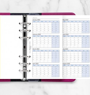 Four Year Planner Personal
