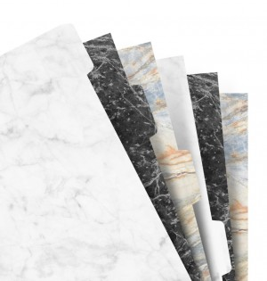 Filofax Notebook A5 Marble Indices